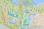 Enchanted pool - an artistic rendering