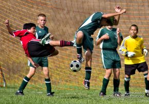Soccer can be a real kick in the pants